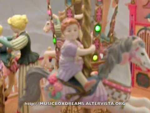 Enesco Musical Carousel Royale