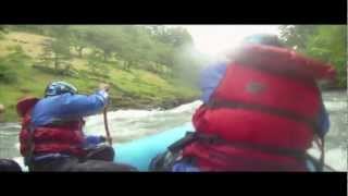 White Salmon River Rafting Man Overboard