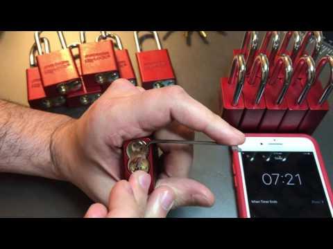 [354] 16 American Lock 1100 Padlocks Picked In 7 Minutes!