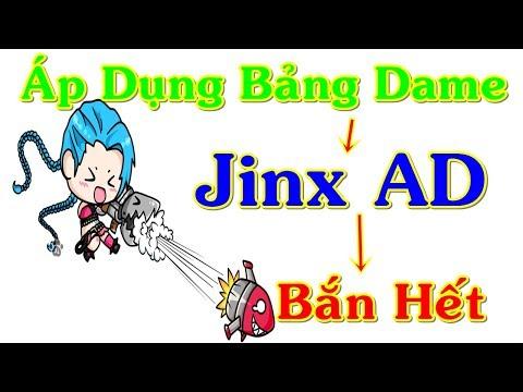 Áp Dụng Ngọc Dame Mới Mùa 8 Cho JINX AD Cân Hết Đội Hình   Trâu Best Udyr