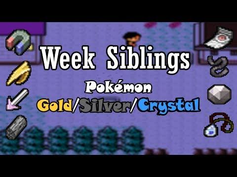 🎮 (TUTORIAL) - Week Siblings Pokémon Gold/Silver/Crystal
