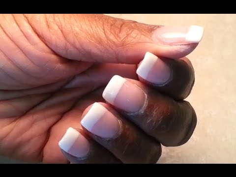 How to easy apply nexgen dipping pink and white set youtube solutioingenieria Image collections