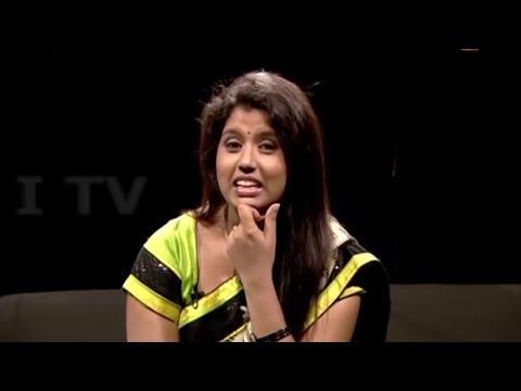 Interactive TV Host GIRIJAA SRI Live Show Tamil | ITEM Video
