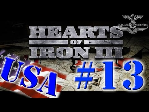 Hearts Of Iron III - USA - #13 | The Invasion of Italy |
