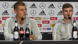 Toni Kroos Interview über Nationalmannschaft 11 10 2018