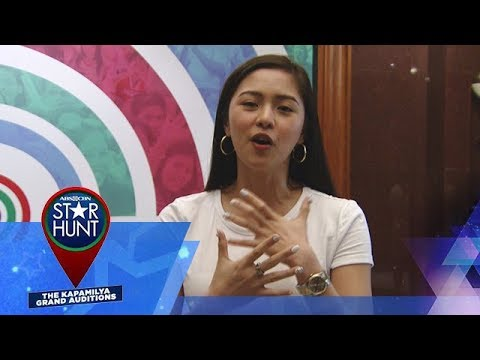 ABS-CBN Star Hunt: Audition tips by Kim Chiu