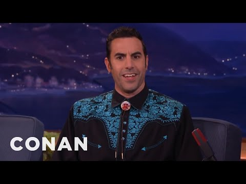 Sacha Baron Cohen's Deleted Borat Porno Shoot   CONAN on TBS