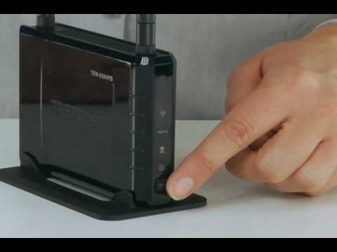Spotlight: 300Mbps Wireless N Access Point TEW-638APB (802.11n) TRENDnet TV