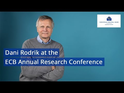Third ECB Annual Research Conference: Session 3: Jean Monnet Lecture