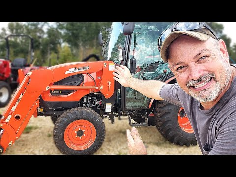 Are KIOTI TRACTORS Any Good? The CK-3510 Walk Around!