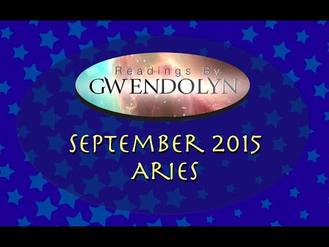 Aries September 2015 Tarotscope