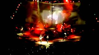 Burning in the Skies - Linkin Park concert Houston March 3 2011 #LPLIVE-03-03-2011