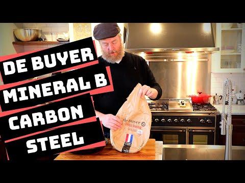 De Buyer Mineral B Omelette Pan