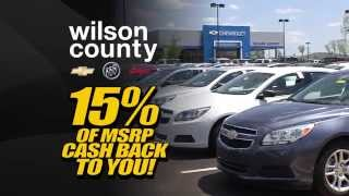 April 2015 Best Time to Buy a new Chevrolet Buick or GMC at Wilson County Motors Lebanon, TN