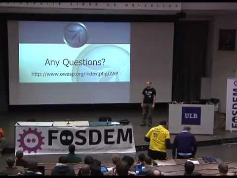 FOSDEM 2013: Practical Security for developers using OWASP ZAP