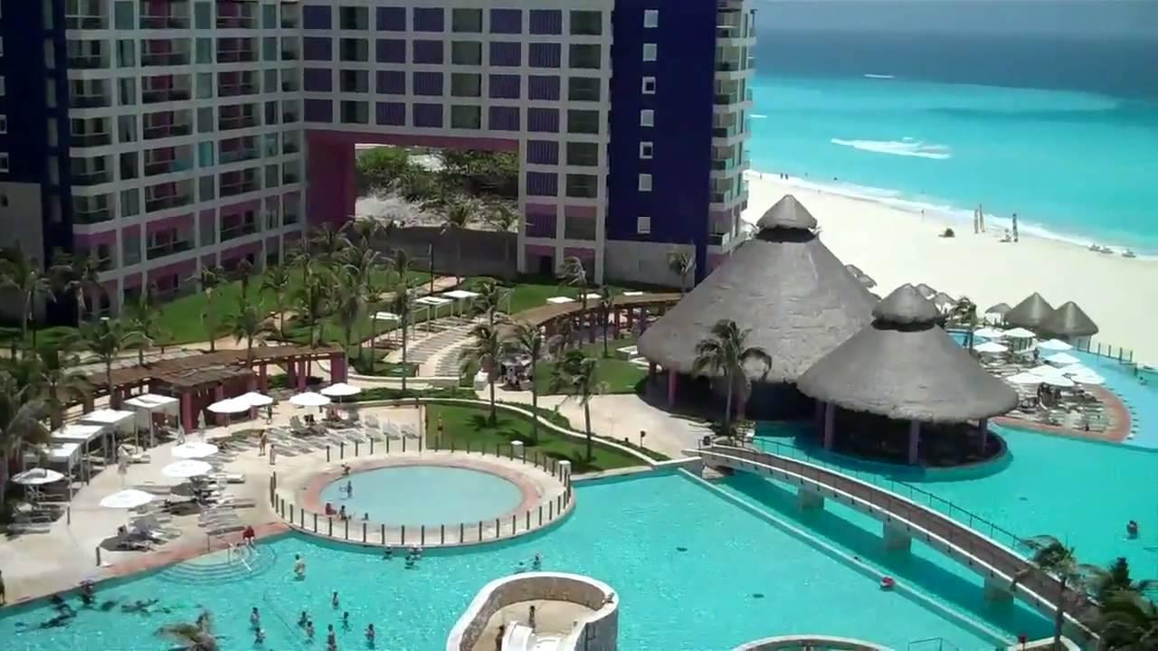 Three views of the Westin Lagunamar in Cancun Mexico  YouTube