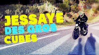 J'ESSAYE DES GROS CUBES ! MT07 , 660XT