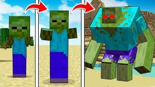 LIFE OF A MINECRAFT ZOMBIE!!