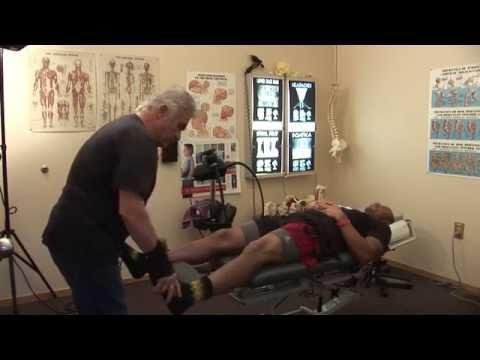 Chris Harris, Corner Back Denver Broncos Chiropractic Treatment