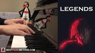 Juice WRLD - Legends (Piano Cover by Amosdoll)