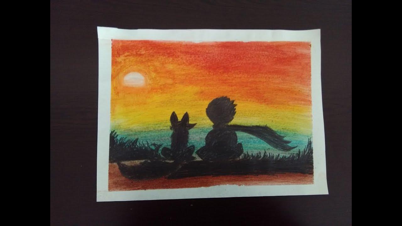 Pastel Boya Kucuk Prens Little Prince Youtube