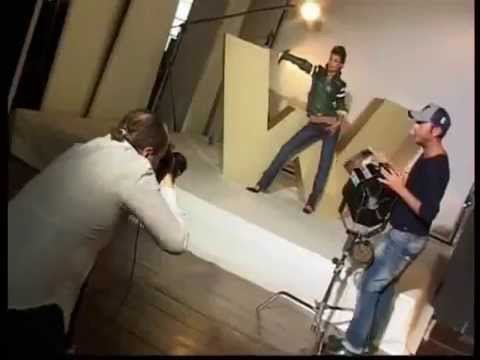 Elisabetta Canalis Backstage Calendario.Backstage Elisabetta Canalis For Hollywood Milano