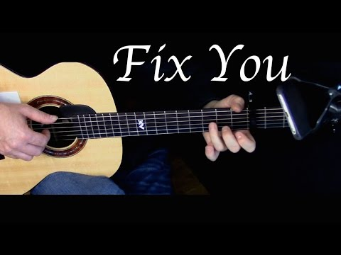 Kelly Valleau - Fix You (Coldplay) - Fingerstyle Guitar