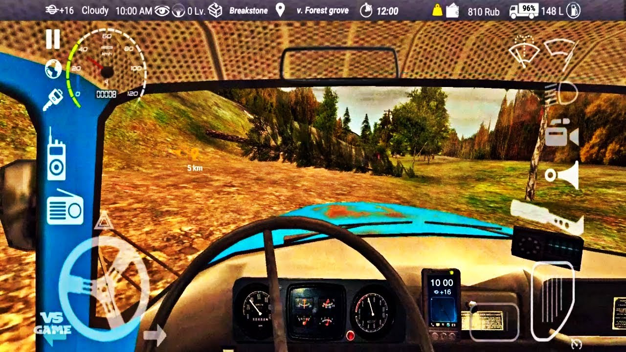 Trees Are Falling😱   Russian Car Driver ZIL 130 Android Gameplay