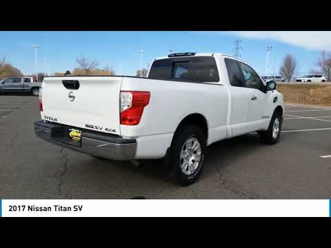 2017 Nissan Titan Wheat Ridge Colorado CD6926TA