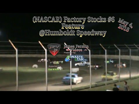 NASCAR Factory Stocks #6, Feature, Humboldt Speedway, 2018