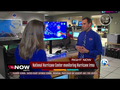 National Hurricane Center monitoring Hurricane Irma