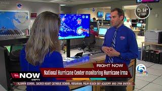 National Hurricane Center monitoring Hurricane Irma