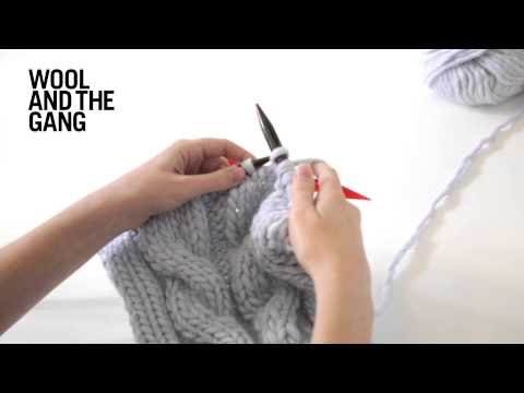 How To Knit: Cables