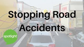 """""""Stopping Road Accidents"""" - practice English with Spotlight"""