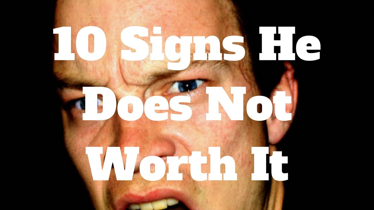 He is not worthy of you if he does not show respect in these 10 situations
