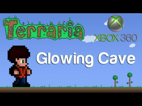 Terraria Xbox - Glowing Cave [13]
