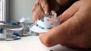 Как расположить светильники на натяжном потолке: инструкция по установке точечных источников света, фото и видео