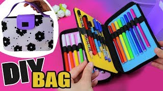 DIY ORGANIZER BAG PENCIL CASE TUTORIAL
