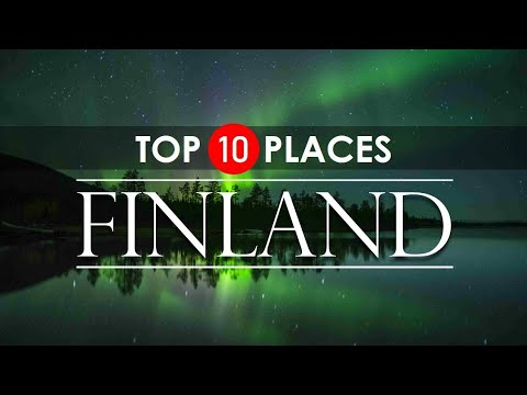 Finland Tour Video | TOP 10 Places to Visit in FINLAND !!