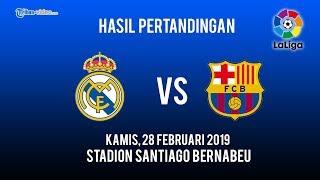 Download Video Hasil Pertandingan El Clasico, Real Madrid Vs Barcelona, Skor Akhir 0-3 MP3 3GP MP4