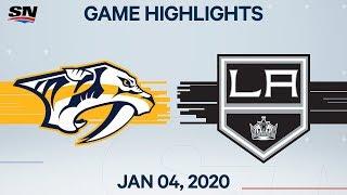 NHL Highlights   Predators vs Kings - Jan. 4, 2020