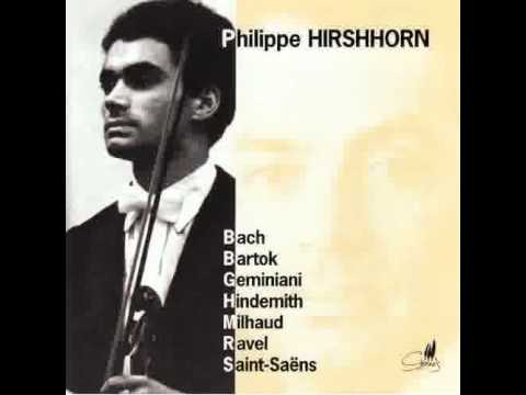 Download Philippe Hirshhorn playing Brahms Quartet op. 60 - 1. Allegro ma non troppo