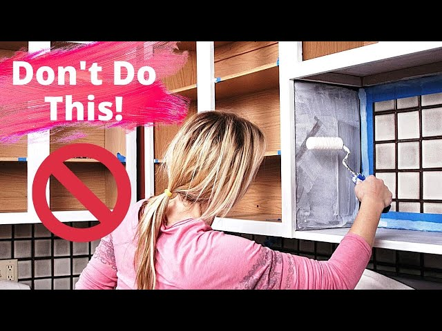 Painting Kitchen Cabinets - Avoid These 11 Huge Mistakes