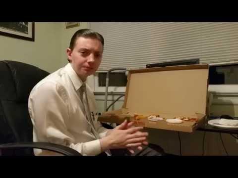 Pizza Hut Big Flavor Dipper Pizza USA Edition - Food Review