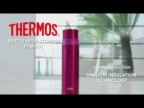 Thermos FFM: Thermos Bottle With Stopper Yang Cocok Banget Untuk Menikmati Minuman Hangat