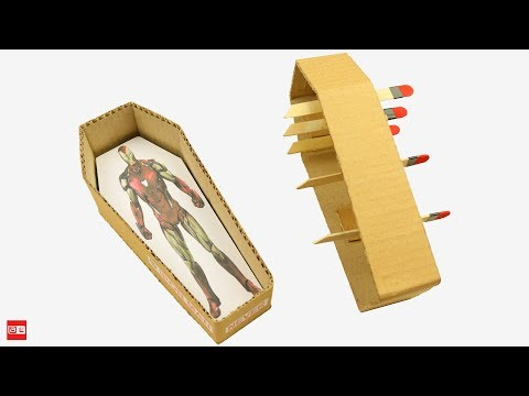 How to Make Iron Man Magic Coffin from Cardboard