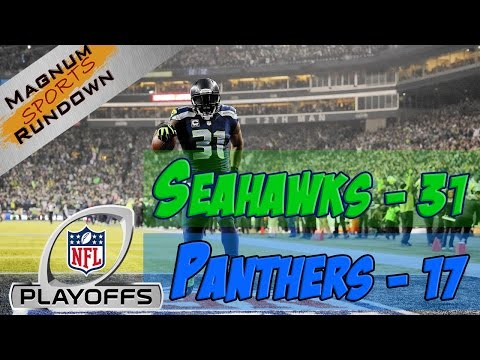 Seahawks beat Panthers 31-17 in NFC Divisional Playoffs || MSR