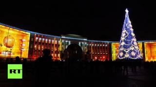 В Петербурге стартовало световое шоу