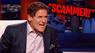 Mark Cuban CALLS OUT Fraudster On Shark Tank!