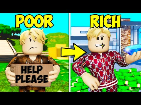 Poor To Rich: Winning The Lottery! A Roblox ShanePlays *Full Movie*
